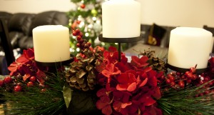 Holiday decor for small apartments