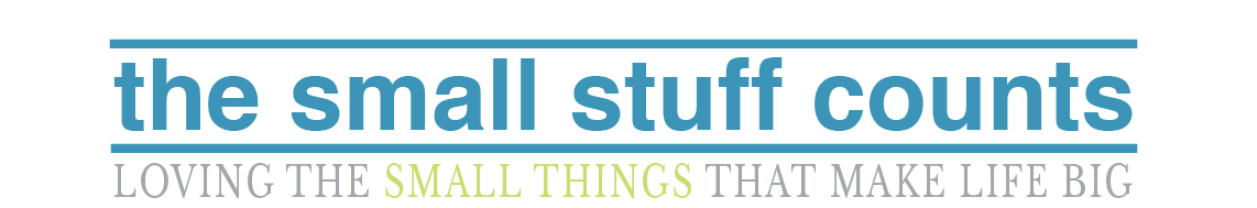 The Small Stuff Counts Blog