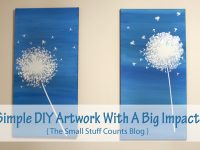 Simple DIY Artwork With A Big Impact