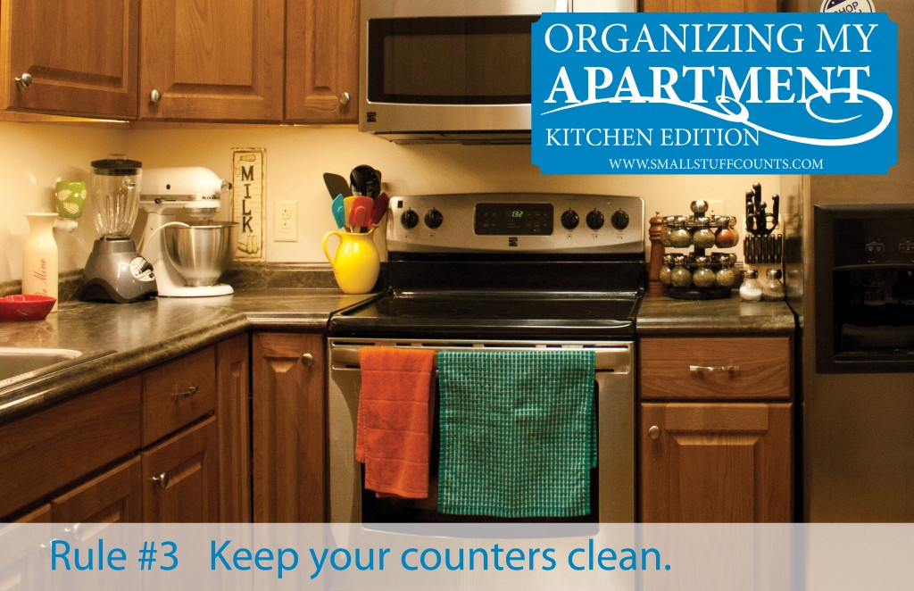 6 simple tips for organizing my apartment kitchen