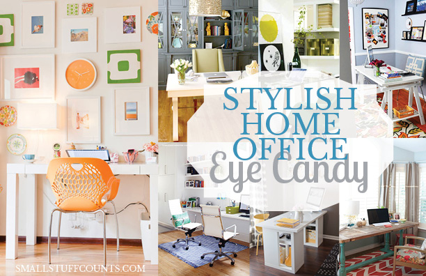 Stylish Home Office Eye Candy
