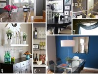 Bold Blue Dining Room Mood Board