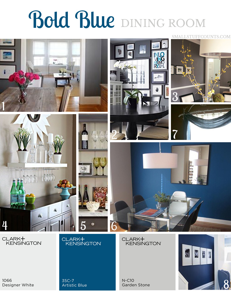 Airy blue kitchen retreat mood board small stuff counts for Room design mood board