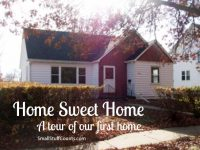 Home Sweet Home ~ A tour of our first home!
