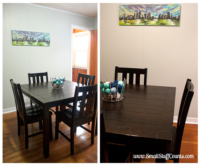 Bold Blue Dining Room 1