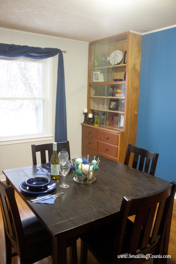 Bold Blue Dining Room 15