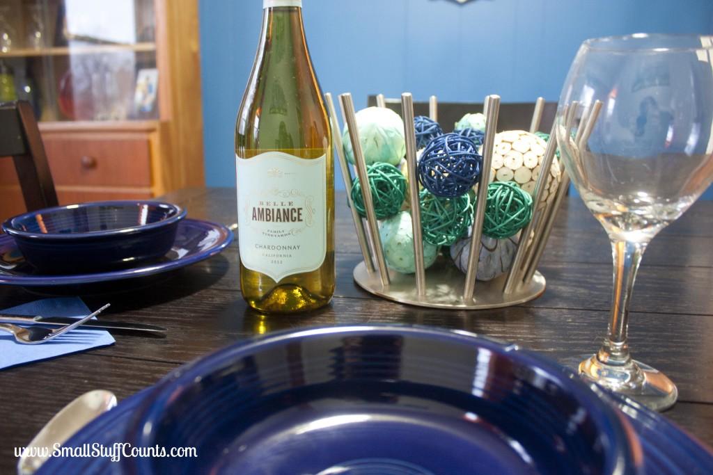 Bold Blue Dining Room 17