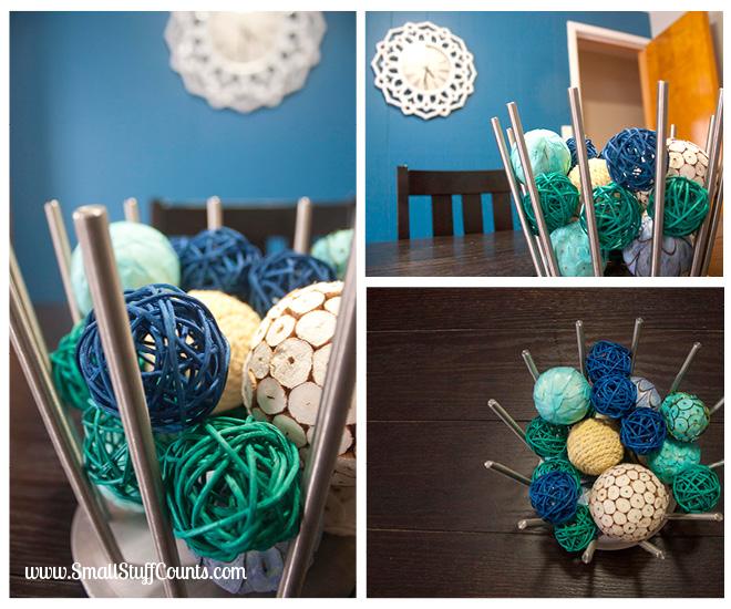 Bold Blue Dining Room 2