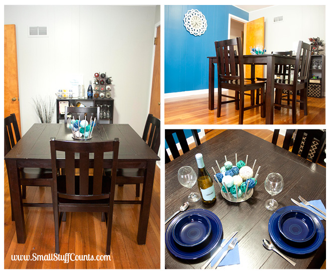 Bold Blue Dining Room 3