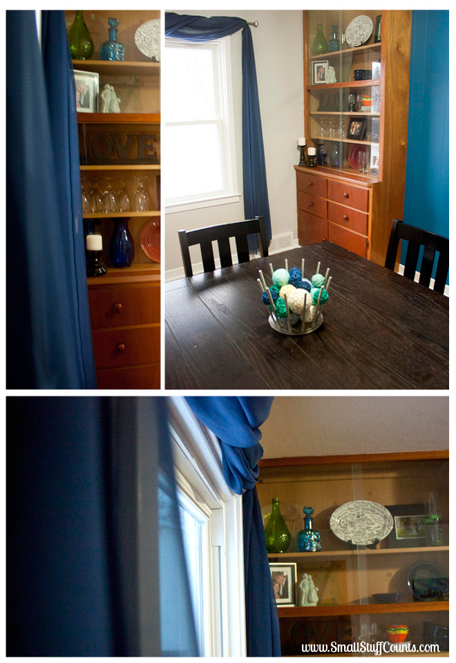 Bold Blue Dining Room 4