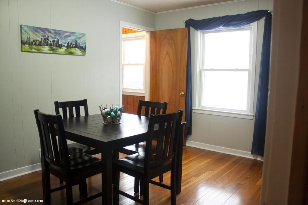 Bold Blue Dining Room 8