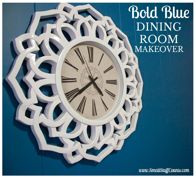 Bold Blue Dining Room Title 2