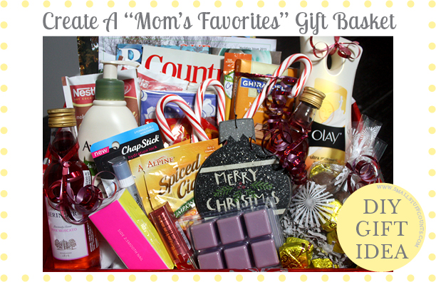 DIY Gift Basket For Mom
