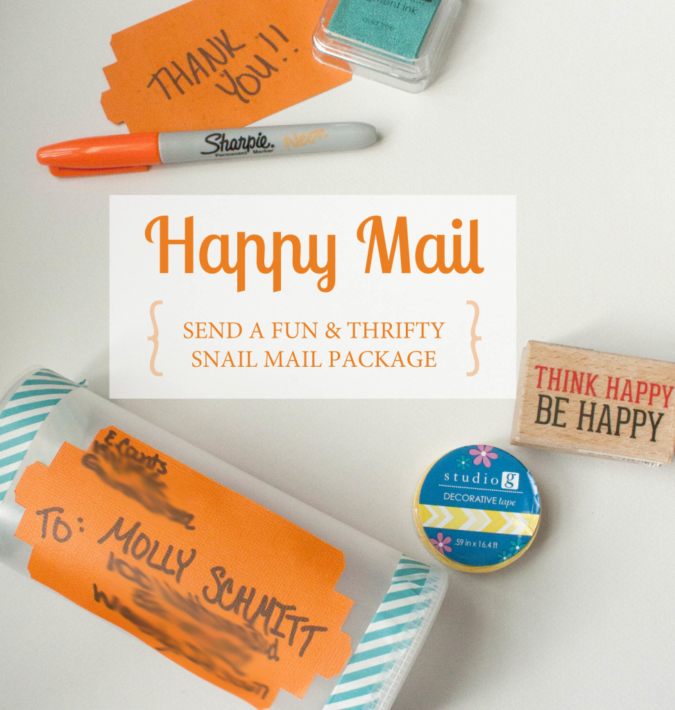 Happy Snail Mail Title Square