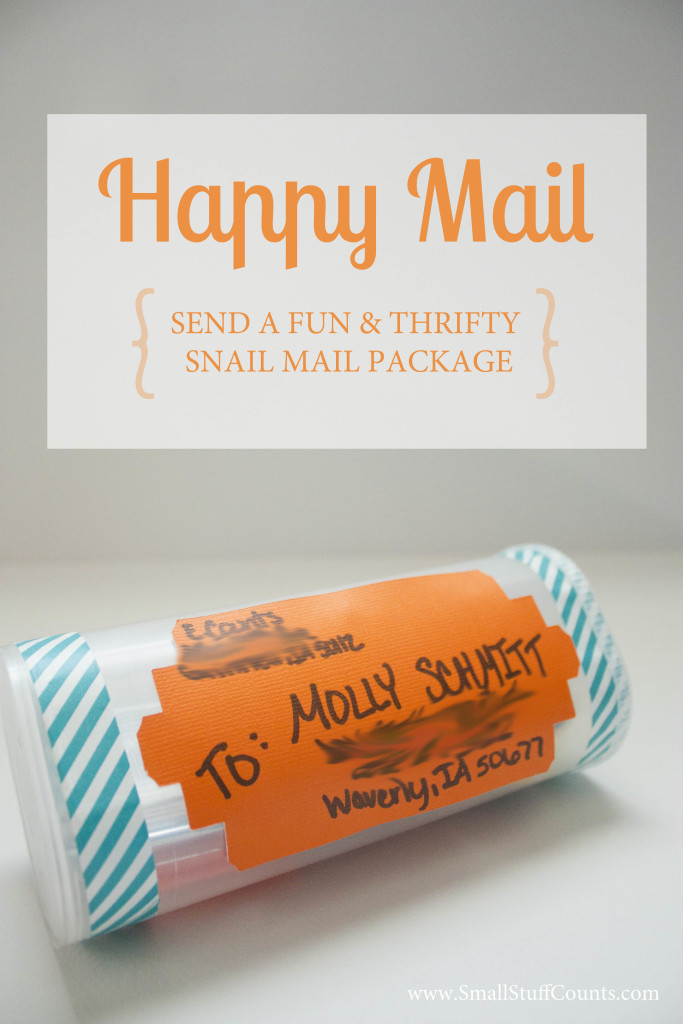 Happy Snail Mail Title Tall