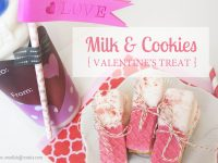 Milk & Cookies Valentine's Treat