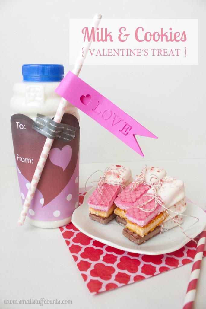 Milk & Cookies Valentine Title2