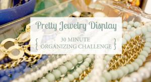 Pretty Jewelry Display Title