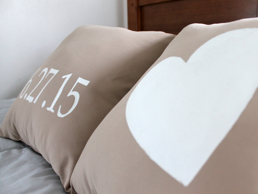Wedding Date Personalized Pillows
