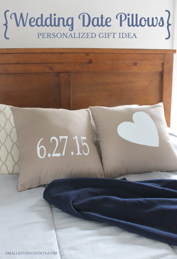 Personalized Pillow Gift