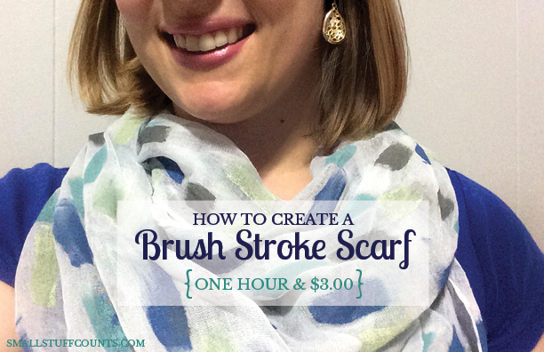 Brush Stroke Scarf How To