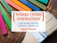 Finding inspiration beyond Pinterest
