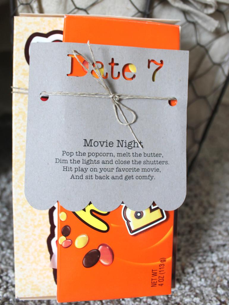 Pre Planned Date Movie Night