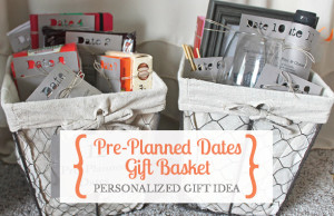 Give a personalized gift of pre-planned date nights