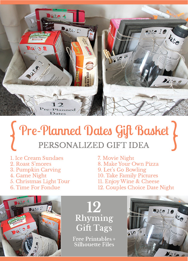 Pre Planned Date Nights Gift Basket