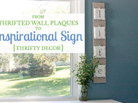 Dated wall plaques turned lovely pallet sign