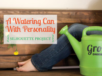 A watering can with personality