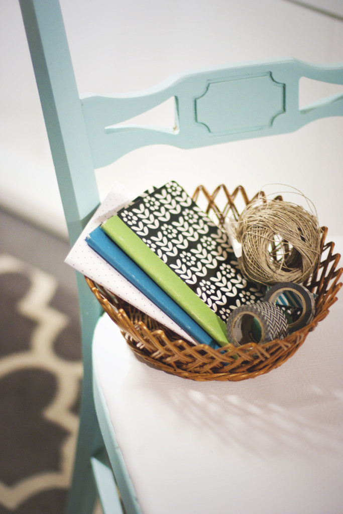 Office are so much more fun with pretty notebooks and furniture!