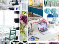 Jewel Tone Craft Studio Makeover – One Room Challenge Week 1