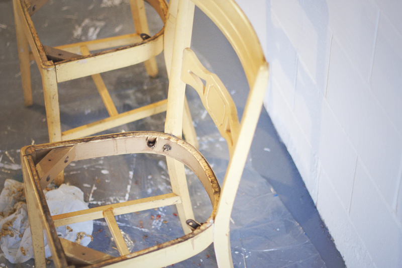 Craft Studio Yellow Chairs