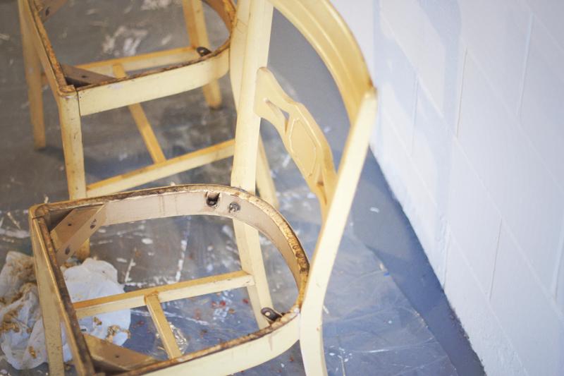 Craft Studio Yellow Chairs