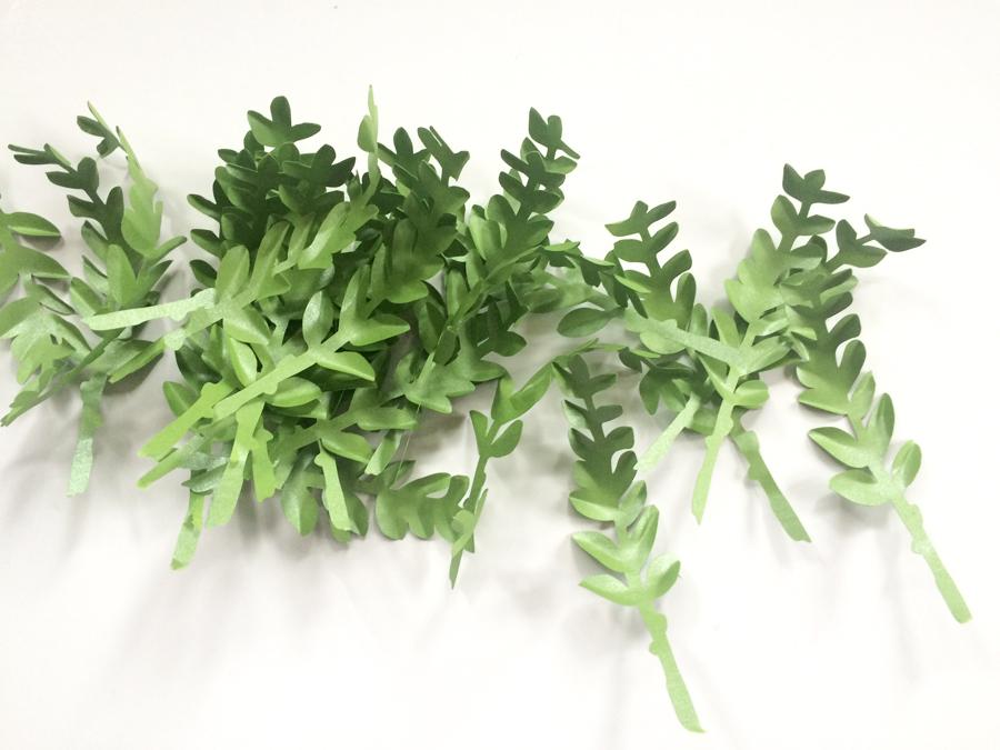 Make a Paper Boxwood Leaf