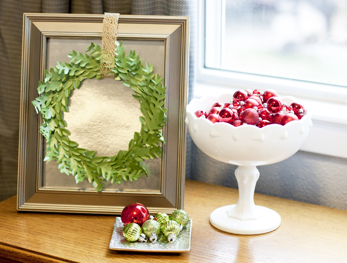 Framed Boxwood Wreath 13
