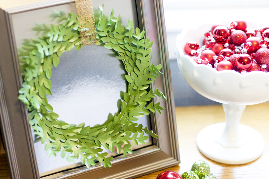 Framed Boxwood Wreath 2