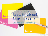 Whip up these happy & vibrant greeting cards