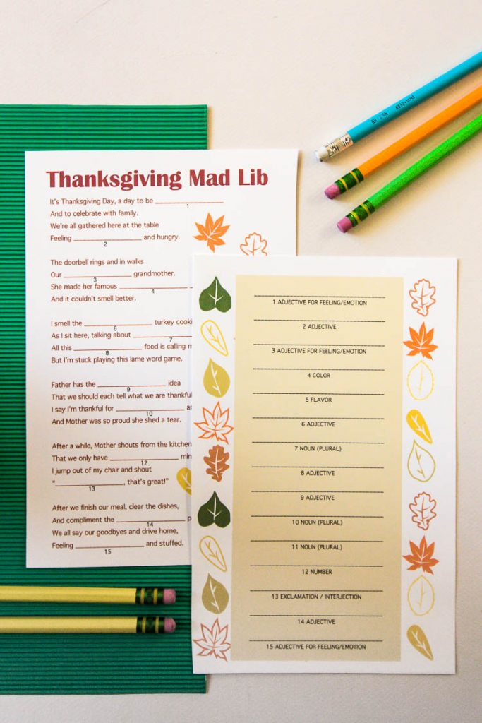 thanksgiving-mad-lib-with-pencils