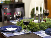 Bringing Christmas Home to my Dining Room