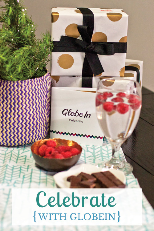 Celebrate life's moments, both big and small, with the Celebrate basket from GlobeIn, filled with handcrafted items from artisans and farmers in developing countries around the world.