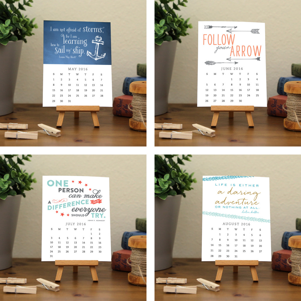 What a beautifully designed calendar!