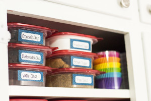 Time to get organized! I just need to download these cute navy printable storage labels and start organizing.