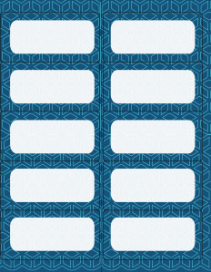 Time to get organized! I just need to print off a page of these cute navy label printables.