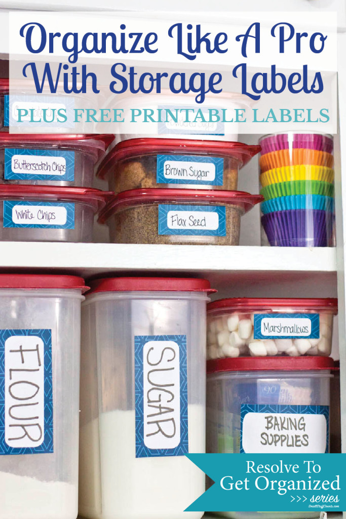 graphic about Free Printable Organizing Labels identified as Prepare Such as A Expert With Totally free Printable Labels