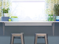 How to Install a DIY Breakfast Counter Under A Window