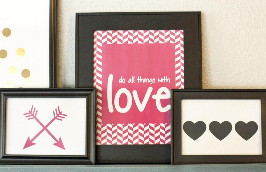 Free Valentine Art Printables Small Stuff Counts