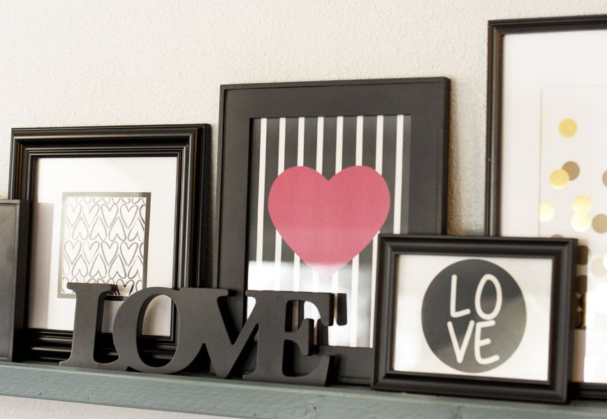 These Valentines Day Printables Would Be Perfect To Add My Gallery Wall