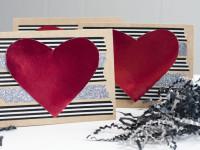 Glam Valentine Greeting Card